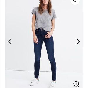 MADEWELL skinny jeans LIKE NEW